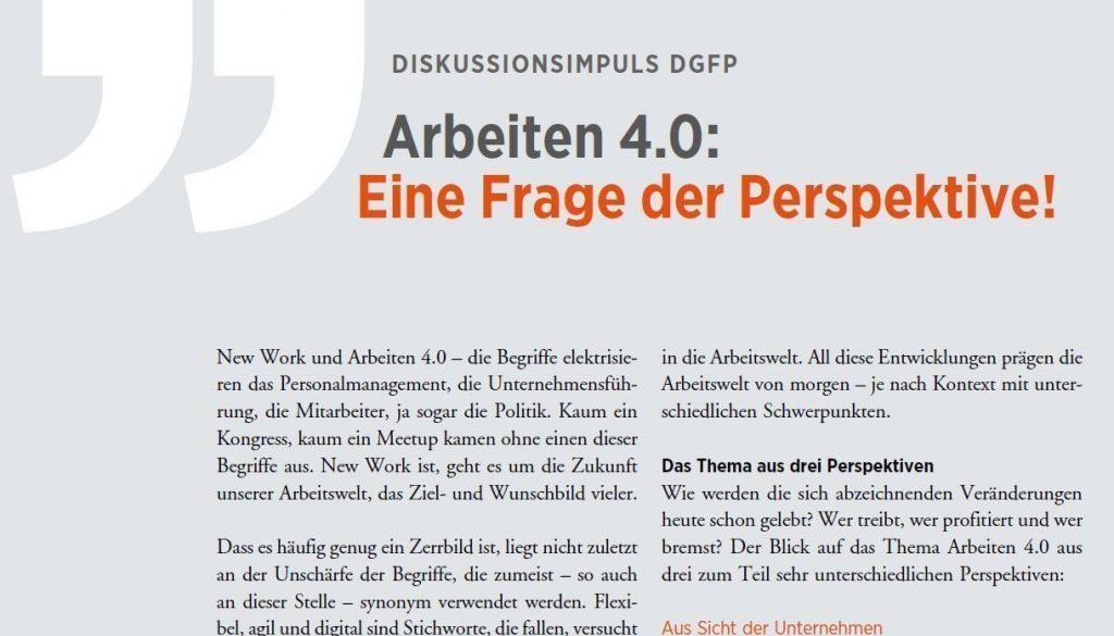 Artikel DGFP